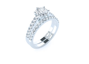 The 'Cheyenne' Diamond Wedding Ring - Gemma Stone  ABN:51 621 127 866