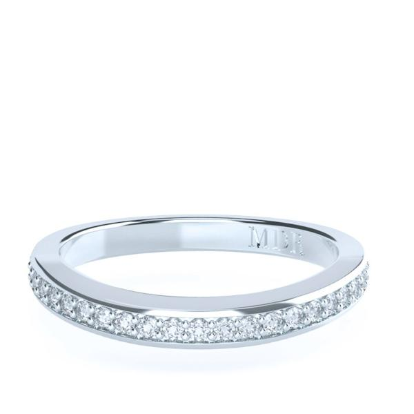 The 'Vienna' Diamond Fitted Wedding Ring - Gemma Stone  ABN:51 621 127 866