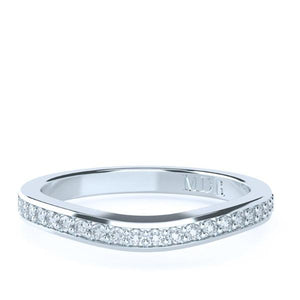 The 'Georgia' Diamond Fitted Wedding Ring - Gemma Stone Jewellery