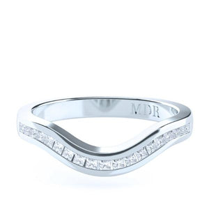 The 'Valencia' Diamond Fitted Wedding Ring - Gemma Stone  ABN:51 621 127 866