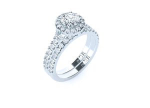The 'Andrea' Diamond Wedding Ring - Gemma Stone  ABN:51 621 127 866