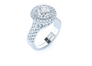 The 'Penelope' Diamond Fitted Wedding Ring - Gemma Stone Jewellery