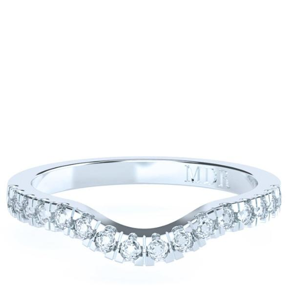 The 'Penelope' Diamond Fitted Wedding Ring - Gemma Stone  ABN:51 621 127 866