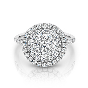 18ct White Gold and Diamond 'Anita' Ring - Gemma Stone  ABN:51 621 127 866