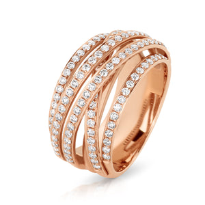 "The Rose Gold ""Renya"" Ring - Gemma Stone  ABN:51 621 127 866"