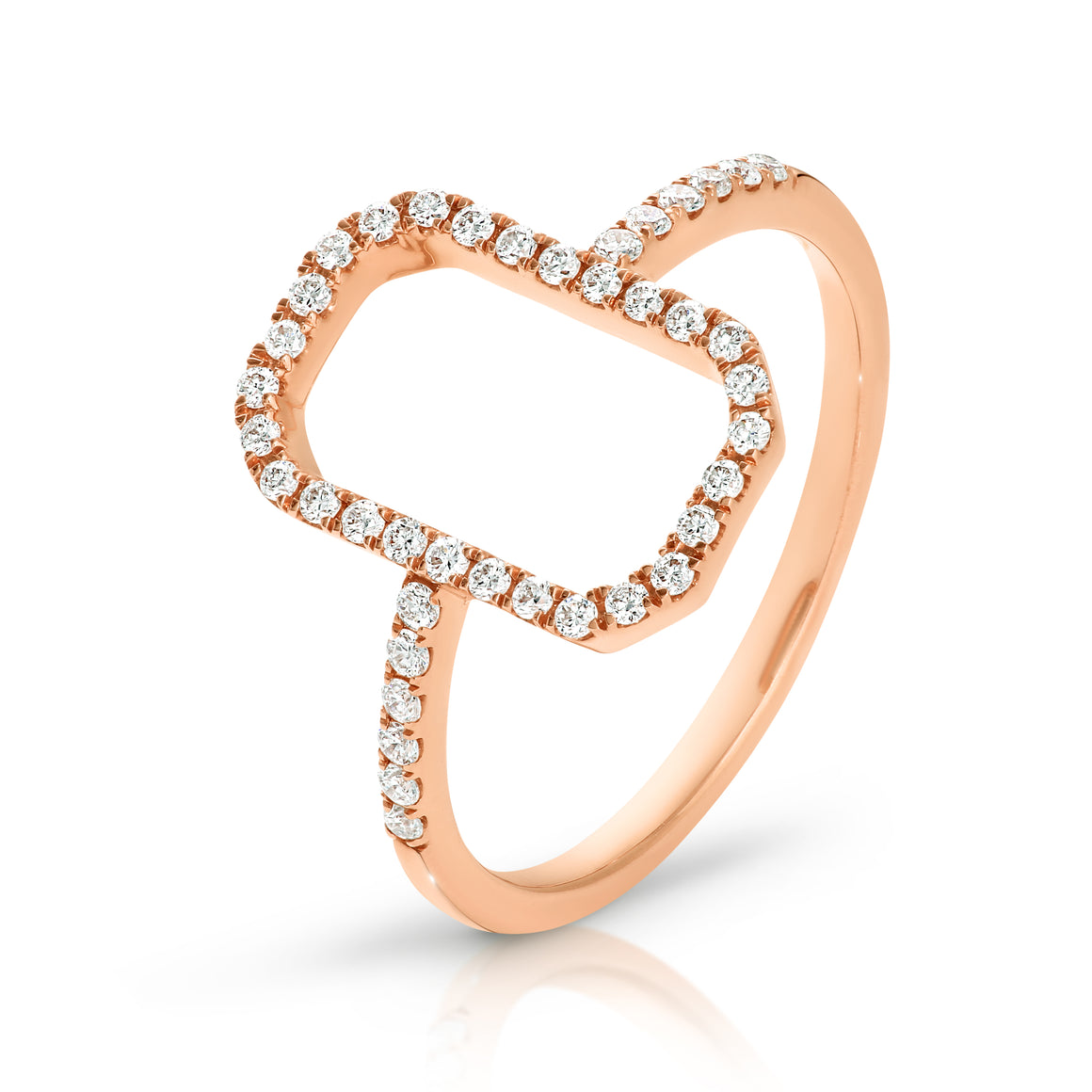 9ct Gold & Diamond 'Cora' Ring - Gemma Stone Jewellery