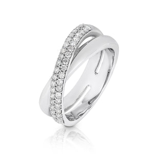 18ct White Gold Diamond 'Lanus' Ring - Gemma Stone  ABN:51 621 127 866