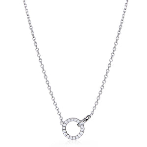 "Diamond ""Circa"" Necklace - Gemma Stone Jewellery"