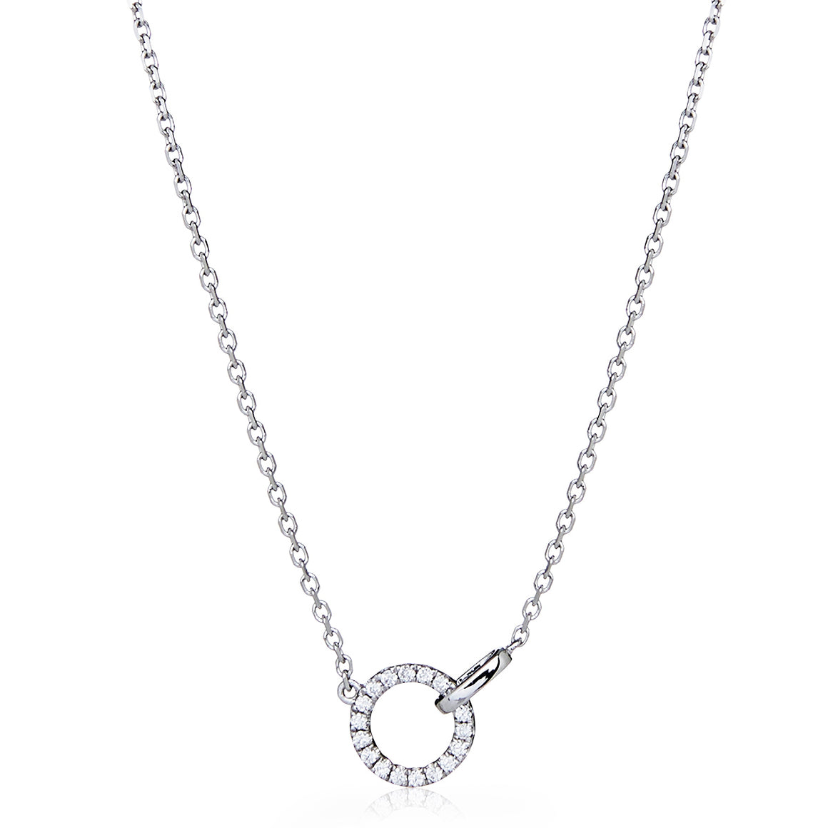 "Diamond ""Circa"" Necklace"