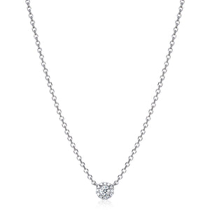 "Solitaire Diamond ""Naya"" Necklace - Gemma Stone  ABN:51 621 127 866"