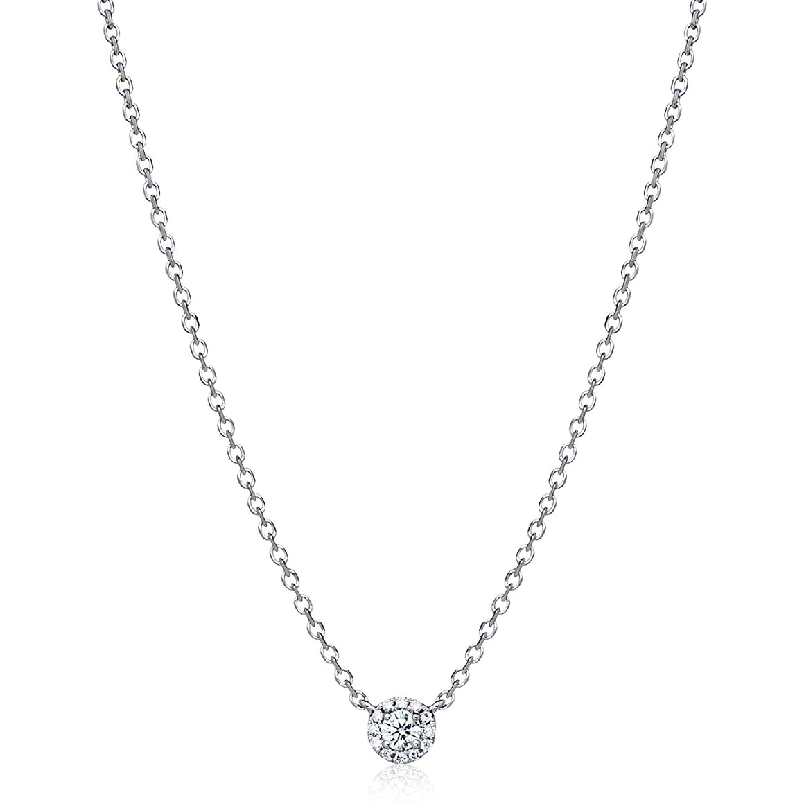 "Solitaire Diamond ""Naya"" Necklace - Gemma Stone Jewellery"