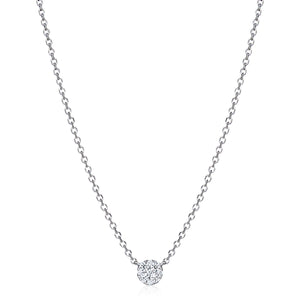 "Solitaire Diamond ""Nikayla"" Necklace - Gemma Stone Jewellery"