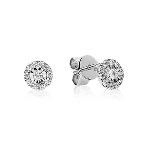 "Diamond ""Novella"" Earrings - Gemma Stone  ABN:51 621 127 866"