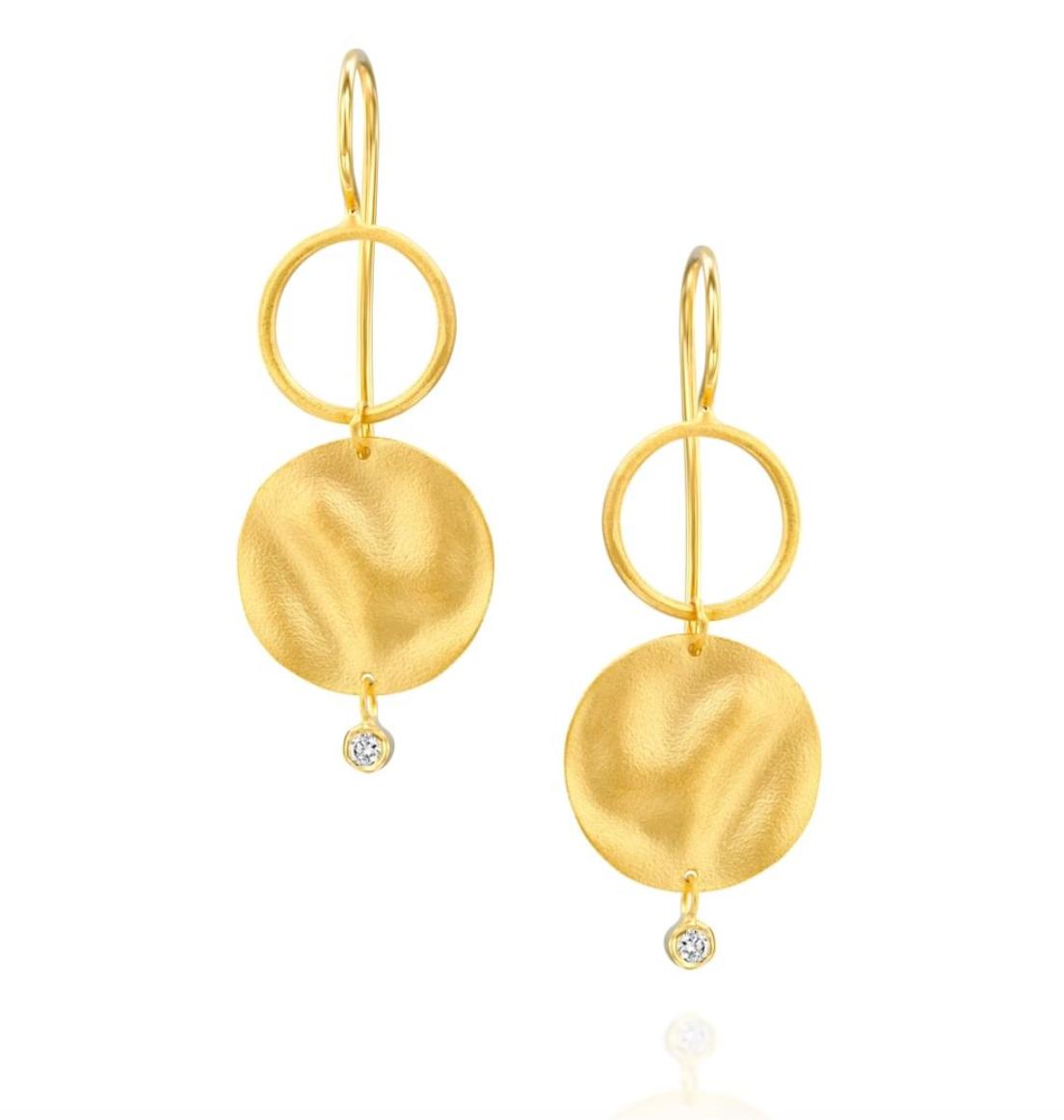 14 Carat Gold Medici Earrings - Gemma Stone  ABN:51 621 127 866