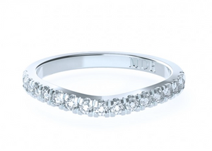 The 'Zaire' Diamond Fitted Wedding Ring - Gemma Stone  ABN:51 621 127 866