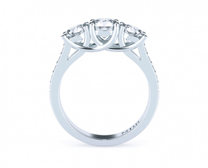 Brilliant Cut Diamond Trilogy 'Sephora' Ring - Gemma Stone  ABN:51 621 127 866