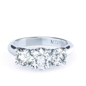 Brilliant Cut Diamond Trilogy 'Martine' Ring - Gemma Stone  ABN:51 621 127 866