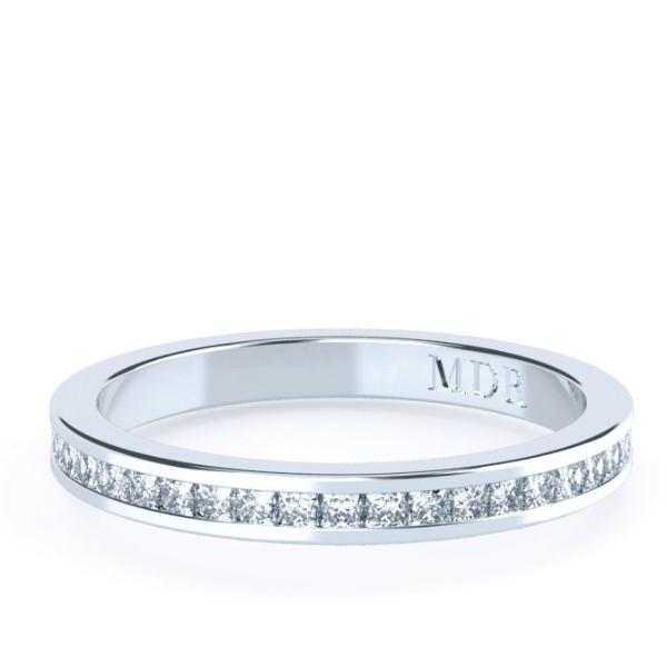 The 'Leia' Diamond Wedding/Eternity Ring - Gemma Stone Jewellery