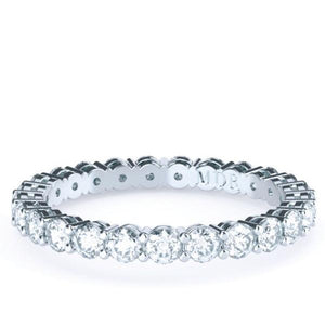 The 'Samara' Diamond Wedding/Eternity Ring - Gemma Stone Jewellery