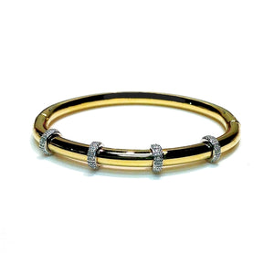Diamond 'Roxy' Bangle - Gemma Stone  ABN:51 621 127 866