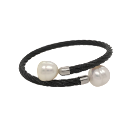 Black South Sea Pearl 'Camille' Bracelet - Gemma Stone  ABN:51 621 127 866