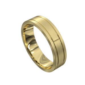 The 'Kamari' Mens Wedding Ring - Gemma Stone Jewellery