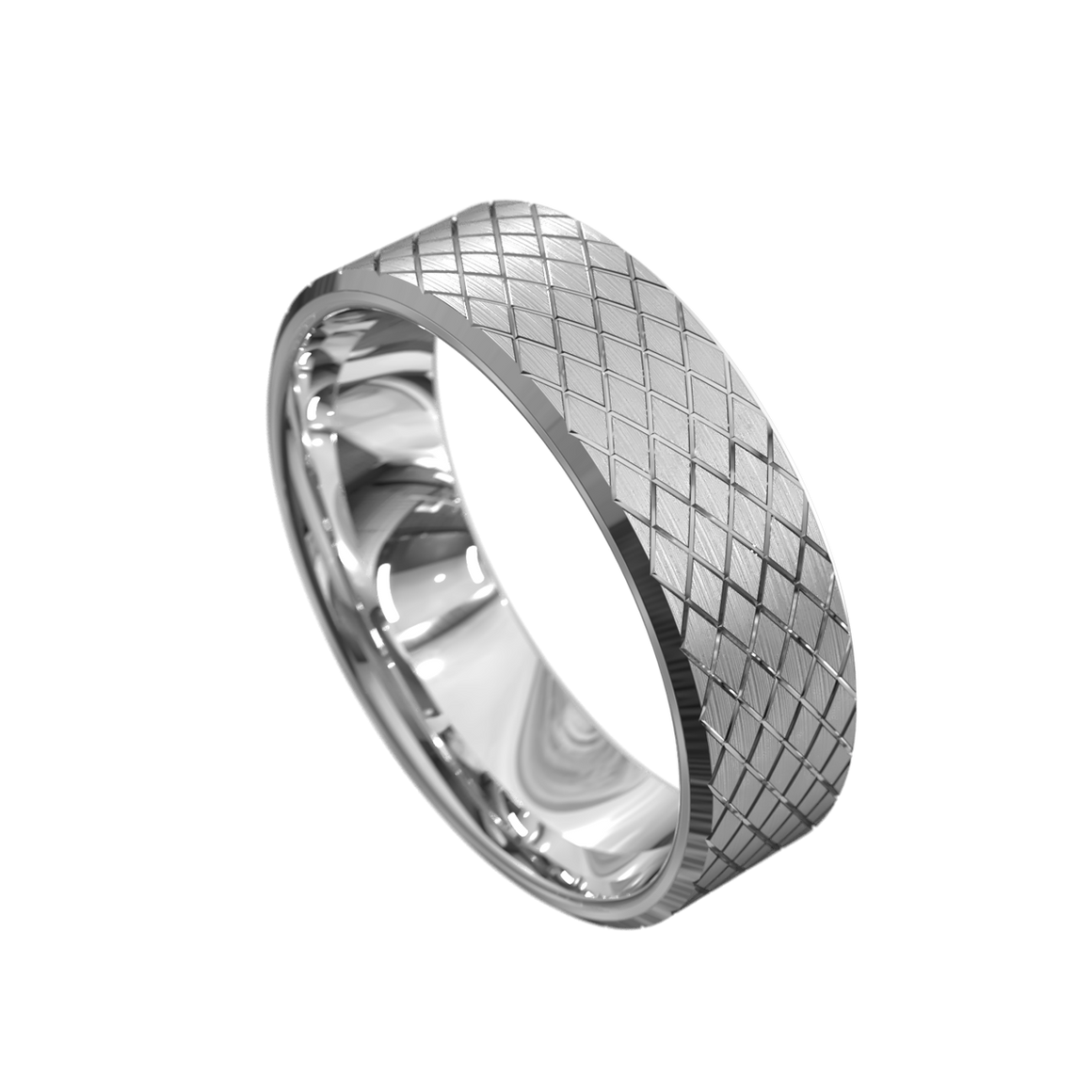 The 'Ambrus' Mens Wedding Ring