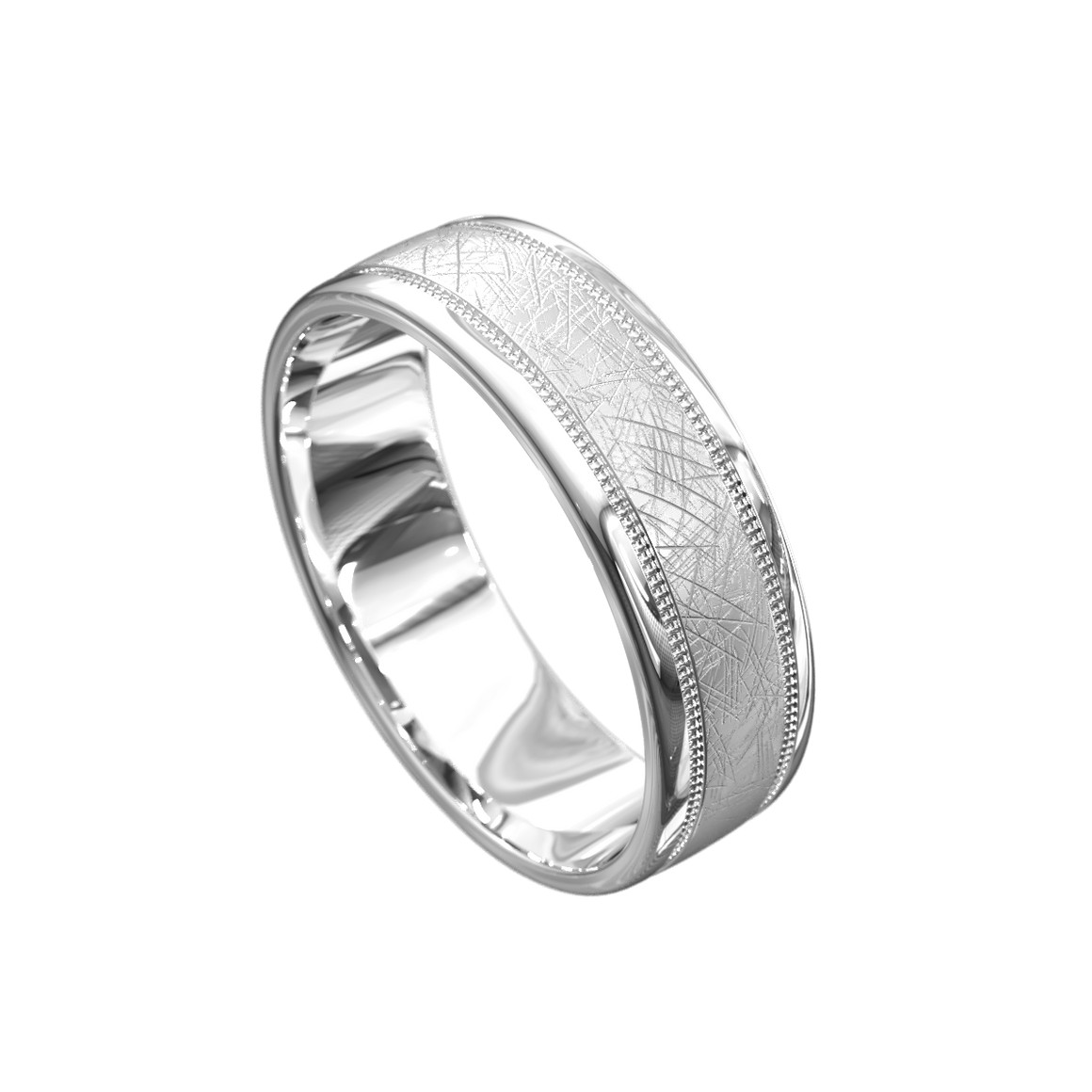 The 'Eugenios' Mens Wedding Ring