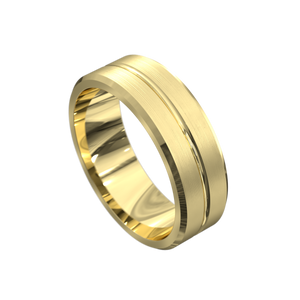 The 'Xander' Mens Wedding Ring - Gemma Stone  ABN:51 621 127 866