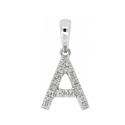 Diamond Initial Pendants with Chain. - Gemma Stone  ABN:51 621 127 866