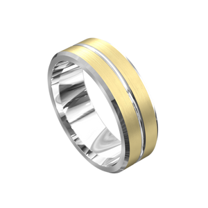 The 'Xander' Mens Wedding Ring - Gemma Stone Jewellery