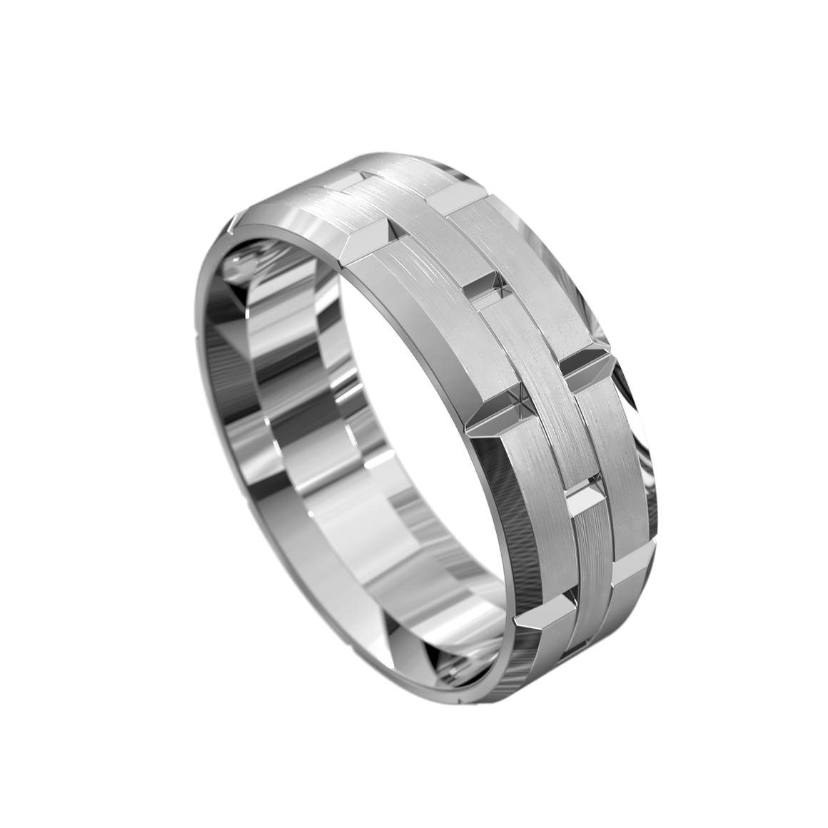 The 'Christos' Mens Wedding Ring