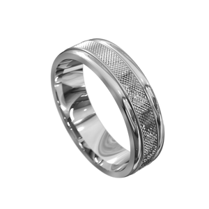 The 'Hermes' Mens Wedding Ring - Gemma Stone Jewellery
