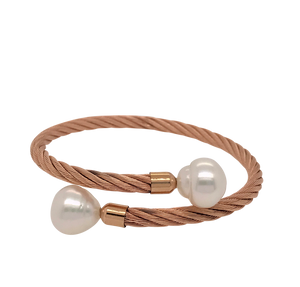 South Sea Pearl 'Camille' Bracelet in Rose - Gemma Stone  ABN:51 621 127 866