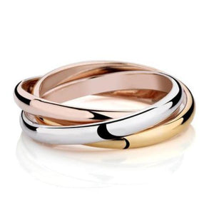 Russian Wedding Ring  Yellow, White and Rose Gold - Gemma Stone  ABN:51 621 127 866