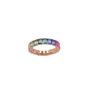 18ct Gold Fancy Sapphire Rainbow Ring. - Gemma Stone  ABN:51 621 127 866