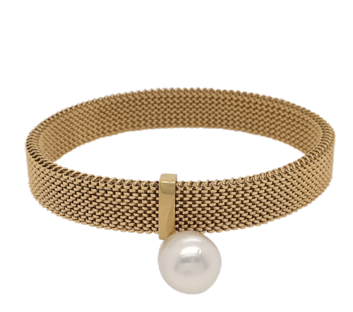 Gold South Sea Pearl 'Bella' Bracelet - Gemma Stone  ABN:51 621 127 866