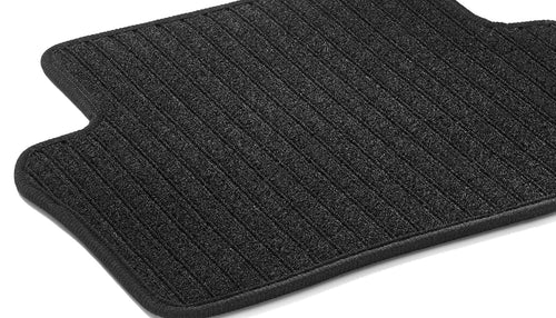 Rep floor mats, rear, 2-piece