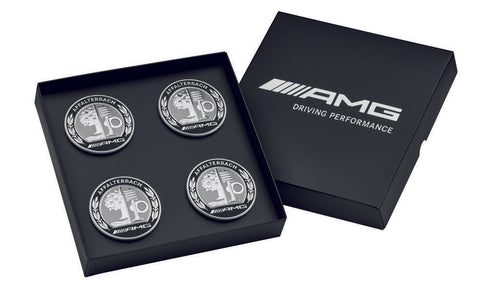 AMG hub cap, with AMG emblem, set of 4