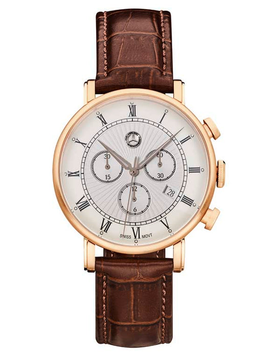 Men's Classic Retro Gold Chronograph Watch