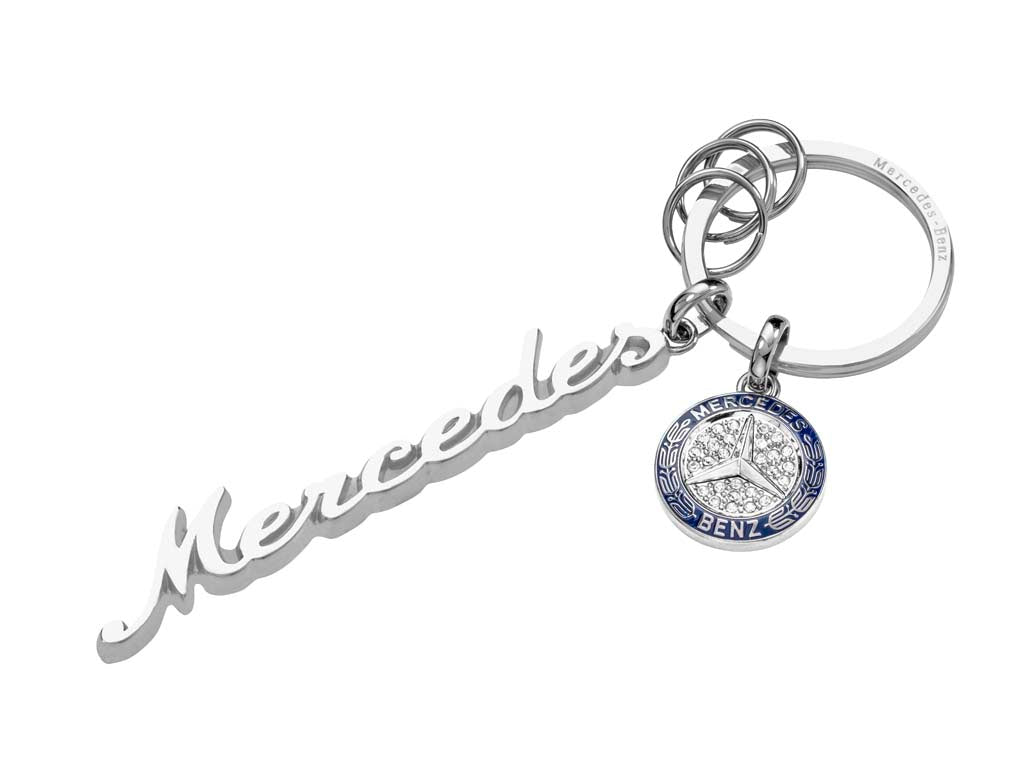 Classic Keyring Silver