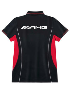 AMG men's performance polo shirt