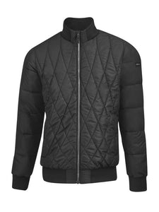 AMG men's quilted jacket