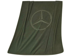 Reversible fleece blanket
