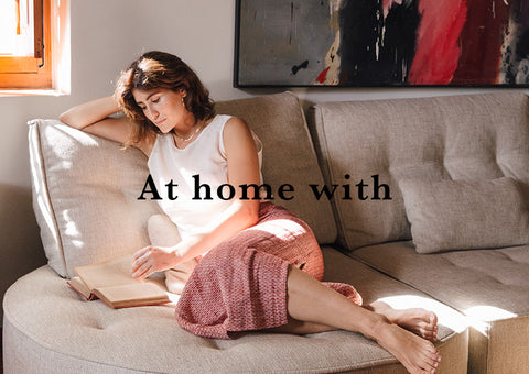 at home with cover