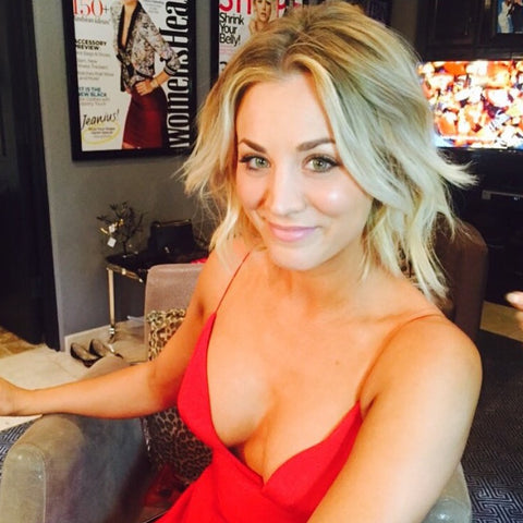 Kaley Cuoco 2016 Golden Globes Jamie Greenberg Yahoo Beauty