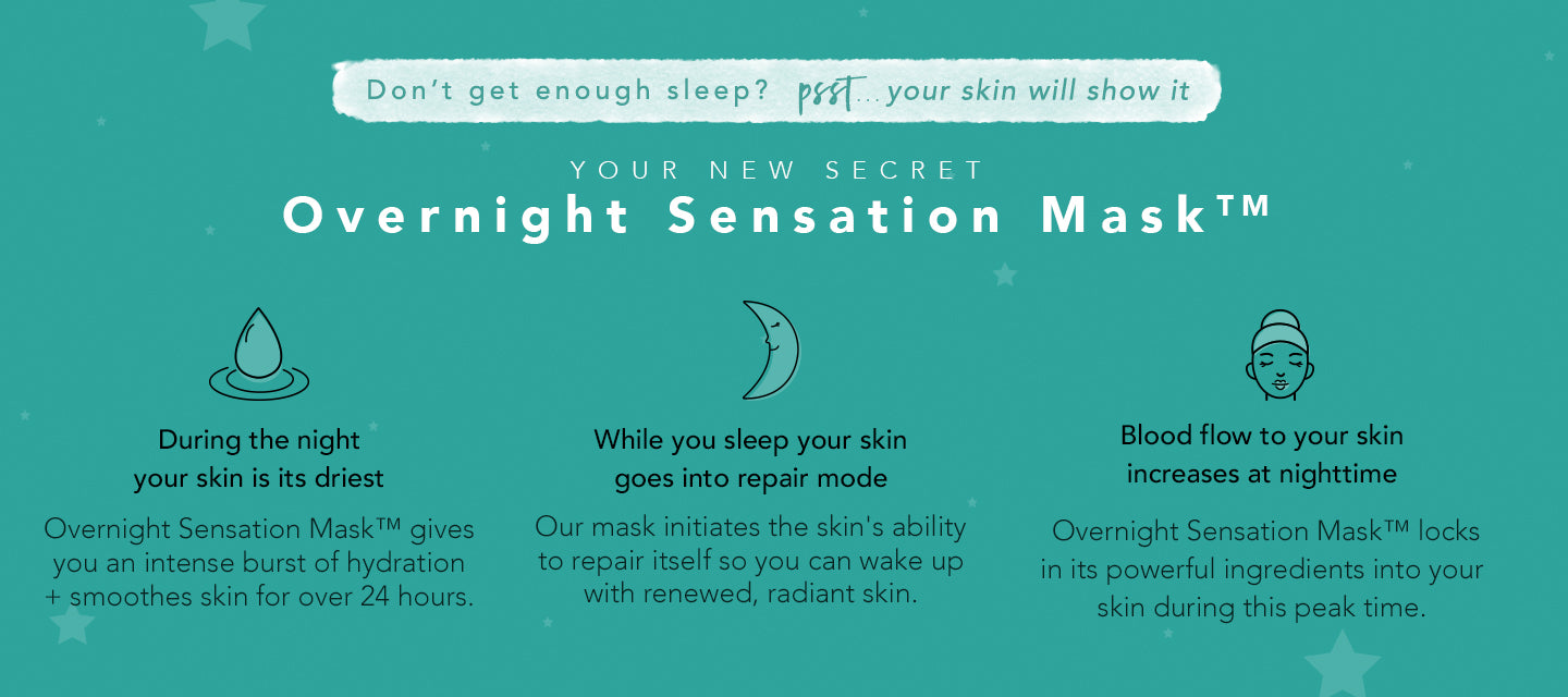 Benefits of overnight face mask