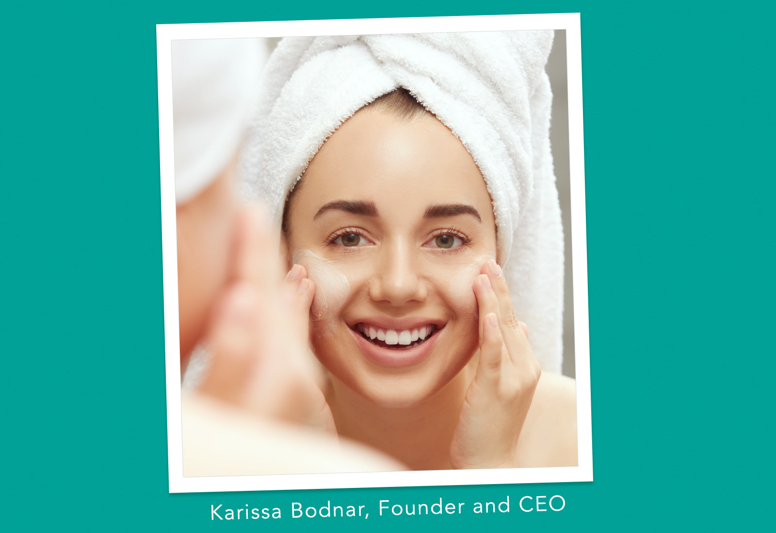 Karissa Bodnar quote about overnight face mask