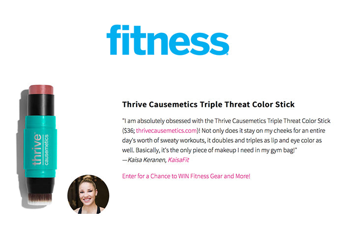fitness - Thrive Causemetics Triple Threat Color Stick