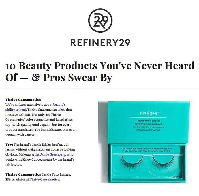 Refinery 29 - 10 Beauty Products You've Never Heard of - & Pros Swear By